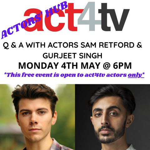 Actors Hub - 04 MAY 20