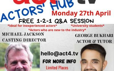 act4tv Launches Actors' Hub