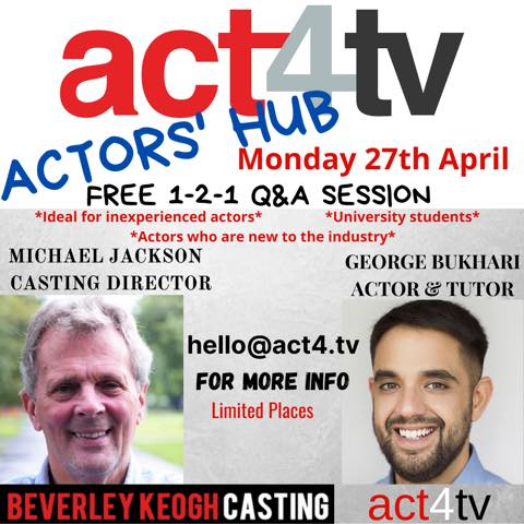 Actors Hub - 27 APR 20