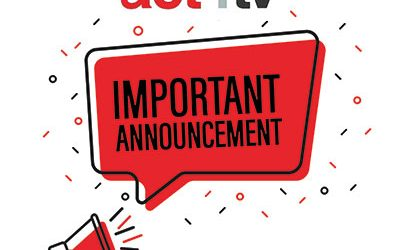 act4tv Important Announcement (Covid-19)