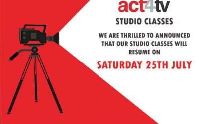 act4tv Studio Classes Reopening