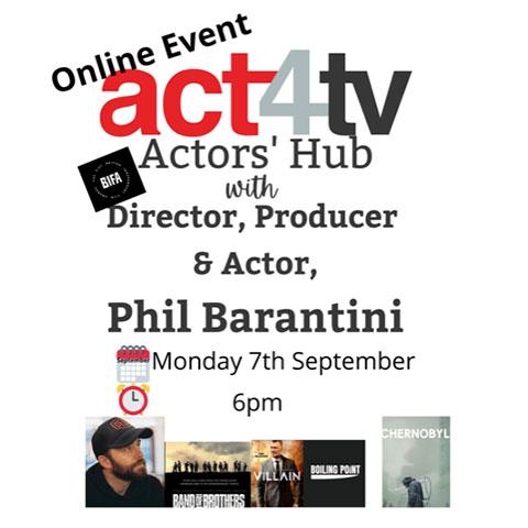 Actors Hub with Phil Barantini